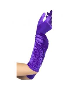 Gants tentatrice violets | Accessoires