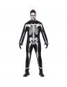 Déguisement squelette noir et blanc | Déguisement Homme
