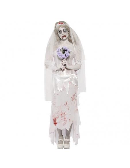 Déguisement zombie mariée de la mort | Déguisement