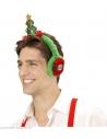 Protège oreilles avec Sapin de Noël