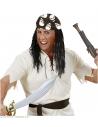 Bandana tête de mort noir et blanc - 55x55 cm - 100% cotton