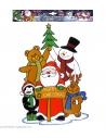 Autocollant décoration de Noël de 40 cm