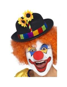 Chapeau de clown avec fleurs   Accessoires