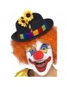 Chapeau de clown avec fleurs | Accessoires