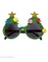 Lunettes Sapin de Noël Vert scintillant