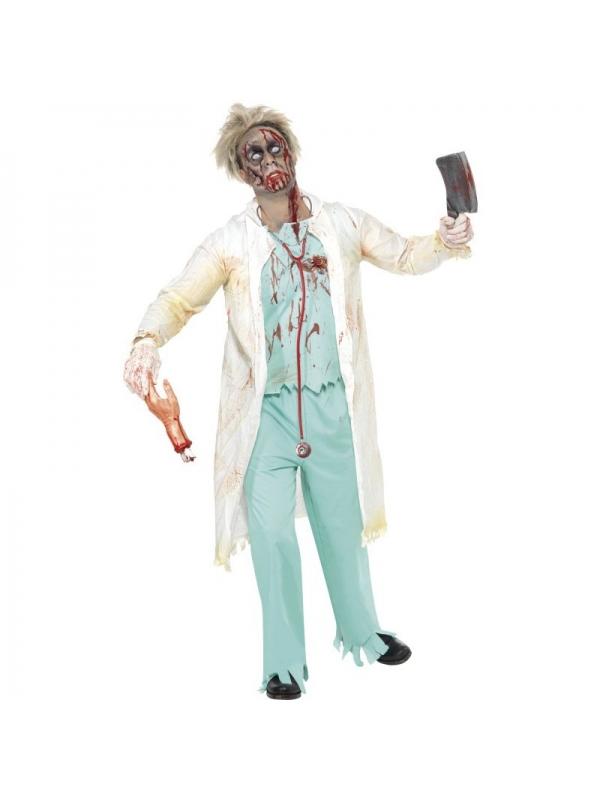 :) Déguisement docteur zombie blanc et vert ¤ [Déguiz fêtes] size M
