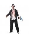 Déguisement gangster zombie noir et blanc | Déguisement Homme