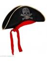 PIRATE HAT WITH STUDDED SKULL & BANDANA velvet