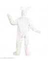 Déguisement lapin blanc, adulte, mixte (costume, gants, pattes, masque)