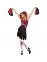 Déguisement pompom girl horreur rouge et noir | Déguisement