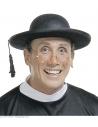 Chapeau de prêtre noir