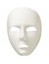 Masque visage entier blanc | Accessoires