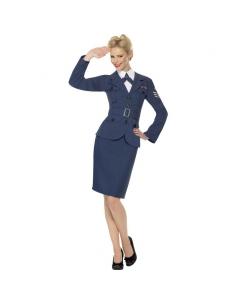 Déguisement femme capitaine Seconde Guerre Mondiale | Déguisement