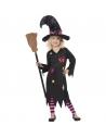 Déguisement sorcière enfant avec chapeau | Déguisement Enfant