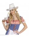 Pistolet de Cowboy Métallique Argent