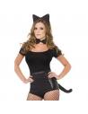 Set chat noir oreilles queue et noeud papillon | Déguisement Enfant