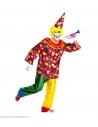 Déguisement Clown (Manteau avec col, pantalon et chapeau)