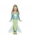 Déguisement Sirène, fille, princesse de la mer (robe à manches longues)   Déguisement Enfant