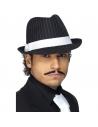 Chapeau borsalino noir et blanc | Accessoires