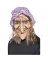 Masque sorcière avec cheveux   Accessoires