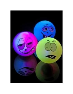 12 balles visages lumineuses | Accessoires