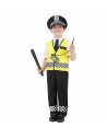 Déguisement enfant policier (haut, pantalon, casquette et ensemble radio)