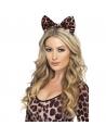 Noeud léopard sur bandeau | Accessoires