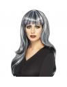 Perruque sirène noire et grise | Accessoires