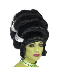 Grosse perruque noire et blanche | Accessoires