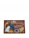Pistolet à eau bleu et blanc avec holster | Accessoires