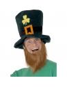 Chapeau leprechaun + barbe | Accessoires