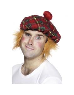 Béret écossais + cheveux | Accessoires