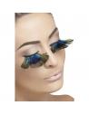 Faux-cils plumes de paon | Accessoires