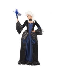 Déguisement femme bleue et noir | Déguisement