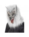Masque loup garou à fourrure   Accessoires