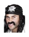 Bandana pirate avec crâne   Accessoires
