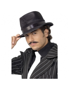 Chapeau feutre noir | Accessoires