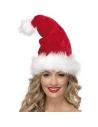 Bonnet Père Noël en velours | Accessoires