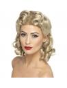 Perruque années 40 blonde | Accessoires