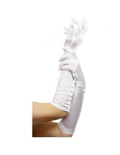 Gants blancs longs   Accessoires