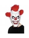 Masque clown effrayant avec cheveux | Accessoires