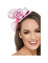 Petit chapeau avec coeur Bride To Be | Accessoires