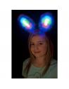 Oreilles de lapin bleues lumineuses | Accessoires