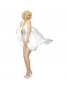 Déguisement Marilyn Monroe robe satin blanche | Déguisement