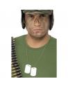 Chaîne avec 2 plaques aluminium soldat | Accessoires