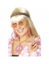 Kit Hippie Rose Femme (bandeau, lunettes, bijoux)   Accessoires