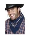 Bandana western bleu | Accessoires