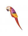 Perroquet gonflable rouge et jaune | Décorations