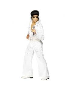 Déguisement Elvis blanc ceinture bijoux | Déguisement Homme