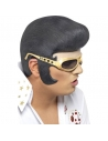 Perruque Elvis avec lunettes | Accessoires